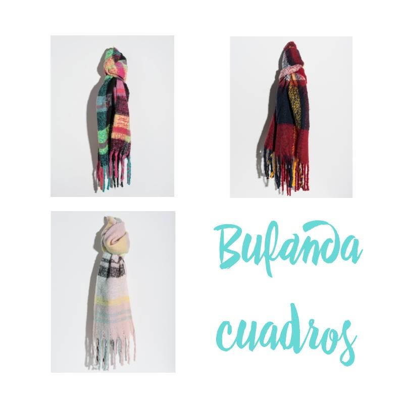 BUFANDA CUADROS
