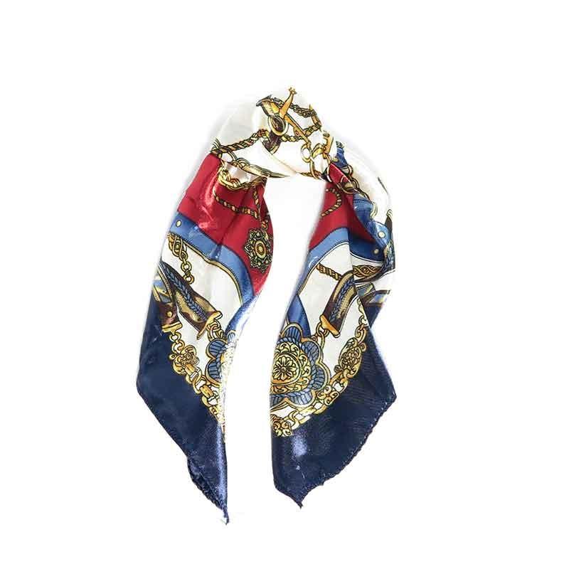 Pañuelo Rosa. Diseño estampado y tamaño 50x50